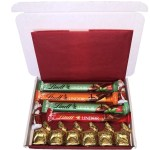 Lindt Christmas Hamper Small2 The Candy Cabin Traditional Online Sweet Shop