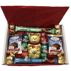 Lindt Large Bear Hamper - The Candy Cabin Traditional Online Sweet Shop