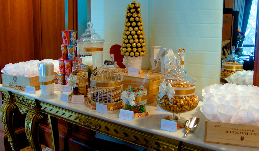 JOandJARS_Gold_Christmas_Wedding_CandyBuffet_FourSeasonsHotel
