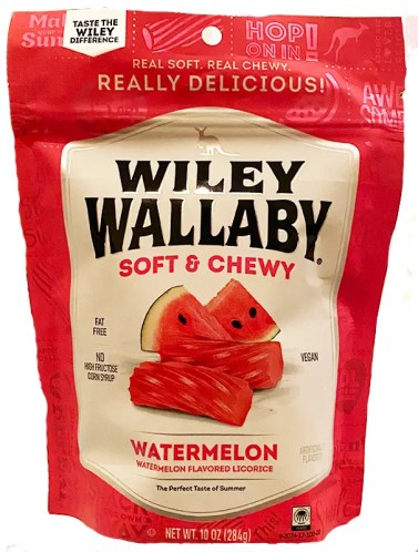 Wile Wallaby watermelon package