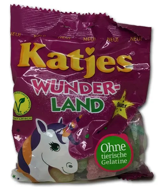 Katjes Wunder-Land: Unicorns and Hearts up in this piece