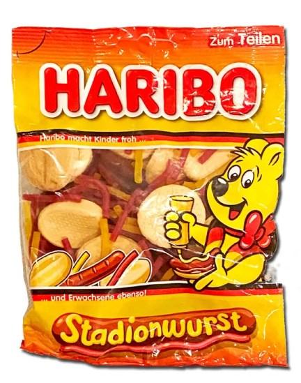 Haribo Stadionwurst package