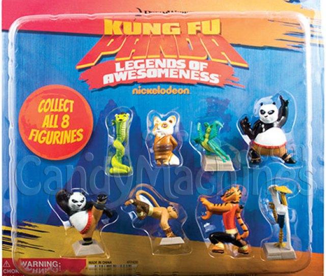 Bulk Vending  Kung Fu Panda Figurines Vending Capsules  Ct