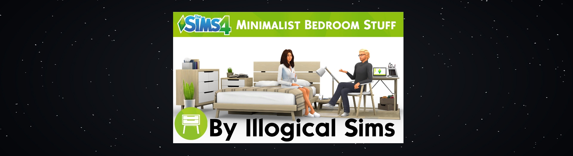 ▷ Kit d'Objets Minimaliste par Illogical Sims