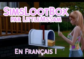 """▷ SimsLootBox """"Recevez une Box à la Maison"""" par LittleMsSam"""