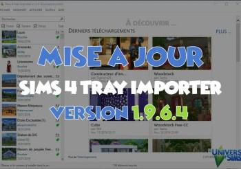 Mise à jour de Sims 4 Tray Importer Version 1.9.6.4