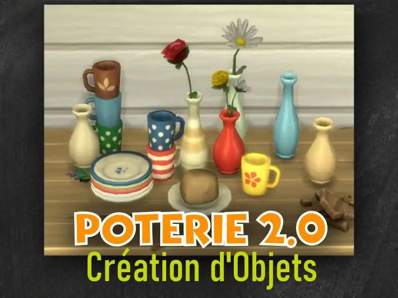 ▷ Mod Poterie Pour les Sims 4