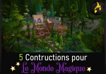 ▷ Sélection de Construction pour le Pack 'Monde Magique'