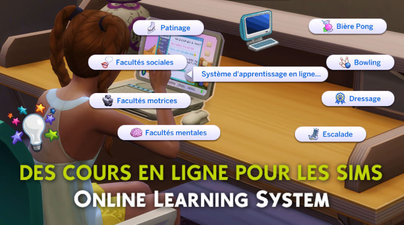 online learning system sims 4