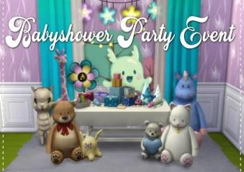 ▷ Babyshower Party par MSQSims