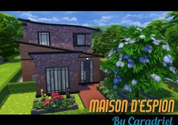 ▷ Maison Moderne d'Espion par Caradriel