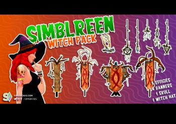 ▷ Witch Pack – Simblreen 2019 par Simsbiosis