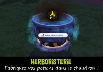 ▷ Potion d'Herboristerie de Icemunmun