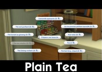▷ Plain Tea par Scarlet