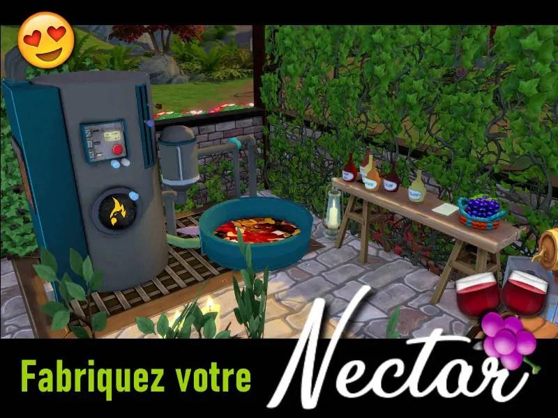 ▷ Nectar pour Les Sims 4