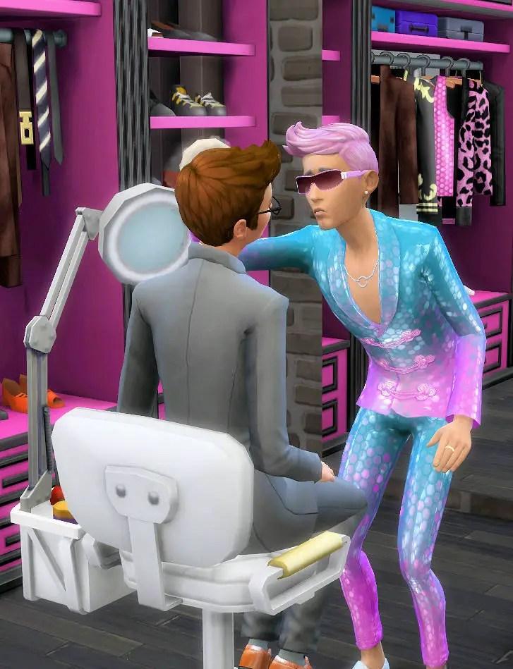 drag queen sims 4