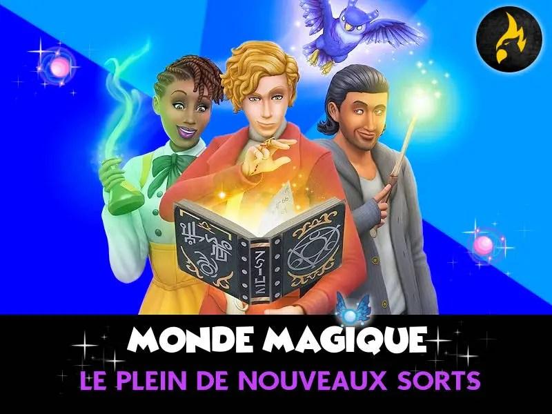 ▷ Nouveaux Sorts Monde Magique des Sims 4