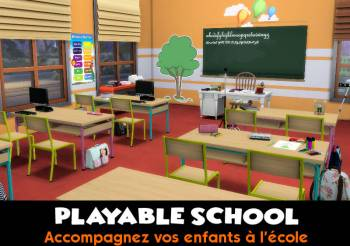 ▷ Playable School par KawaiiStacie