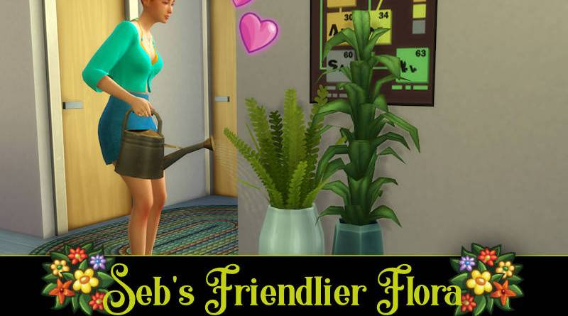 mod arroser les plantes Sims 4
