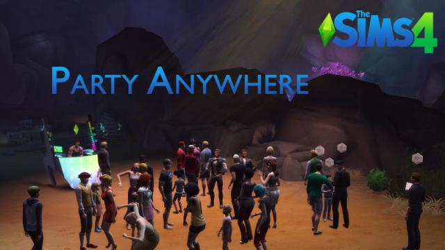 mod party anywhere sims 4