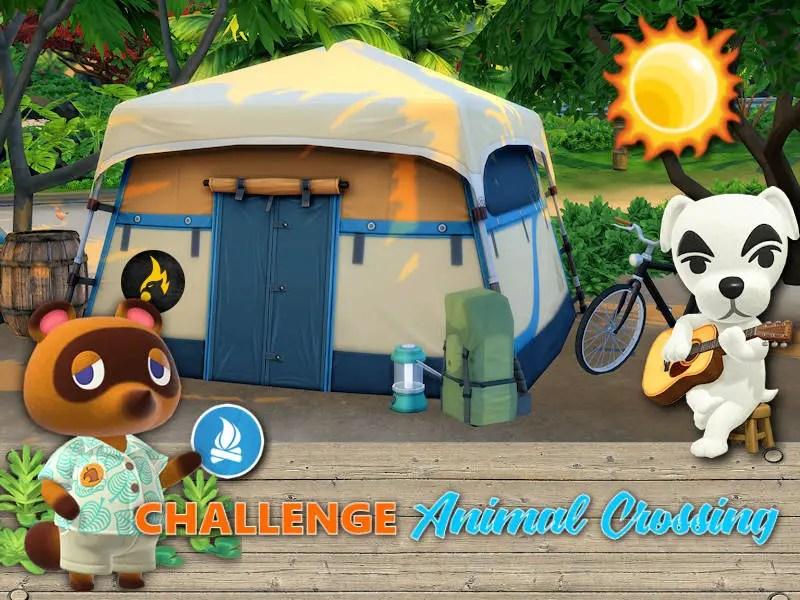 animal crossing sims 4