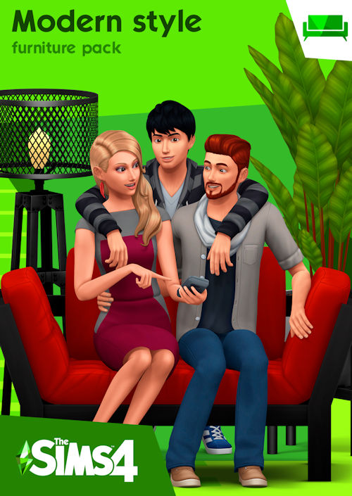 modern style furniture pack sims 4