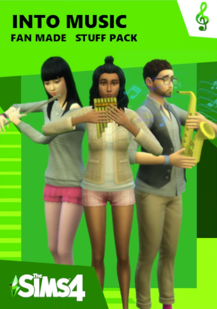 pack instruments musique sims 4
