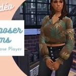 mod pose player sims 4