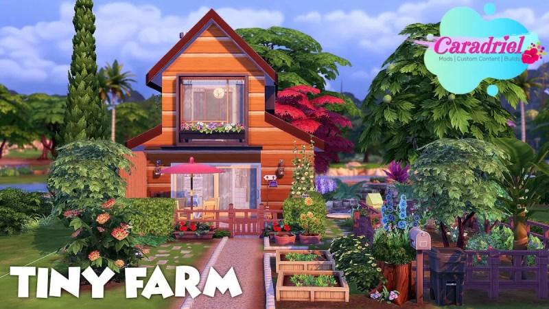 ferme miniature Sims 4