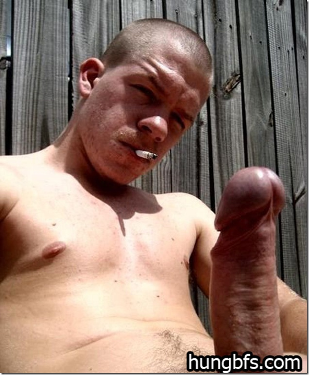 Watch these hung boyfriends get off and join in the fun