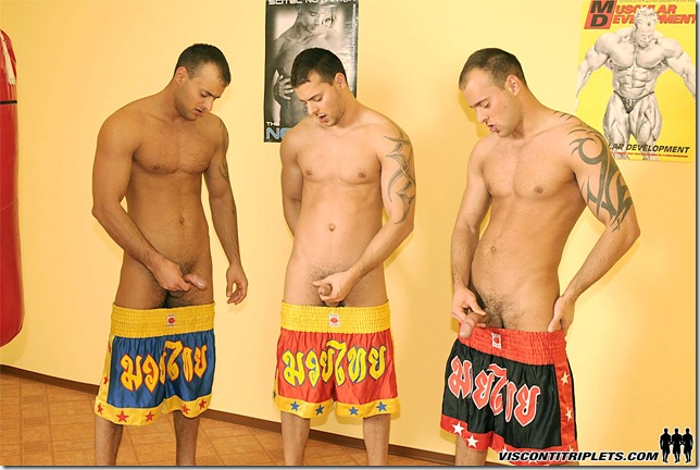 visconti triplets - Boxing Foursome — Jason Visconti, Jimmy Visconti, Joey Visconti