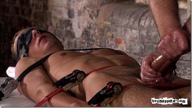 boy napped strapping luke