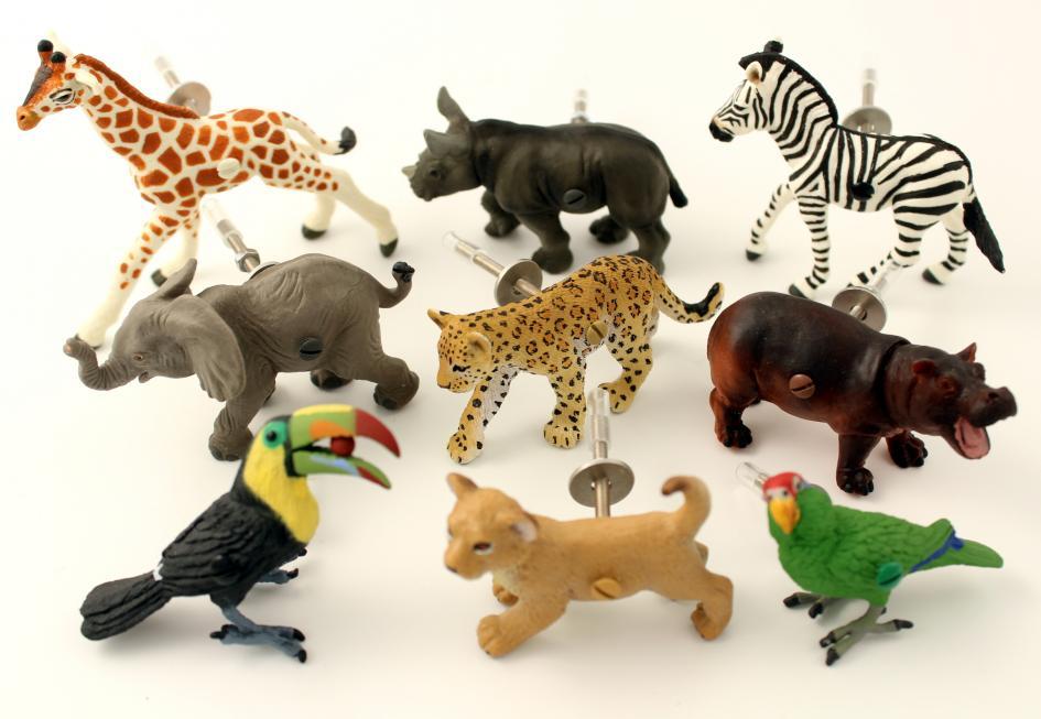 Childrens Safari Animal Jungle Themed Bedroom Drawer