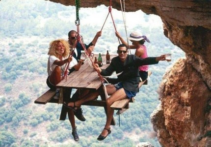 Extreme picnicking (Anywhere)