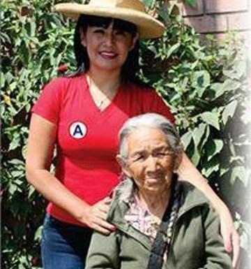 Luisa Meneses flamante alcaldesa de Pacarán: Tengo el compromiso de trabajar por mi pueblo