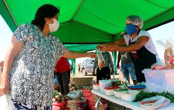 Programa Mercados de mi Región en las provincias de Cañete y Barranca y Huaura