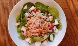 Energy Boosting Spinach Salad