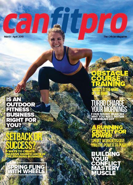 March/April canfitpro Magazine
