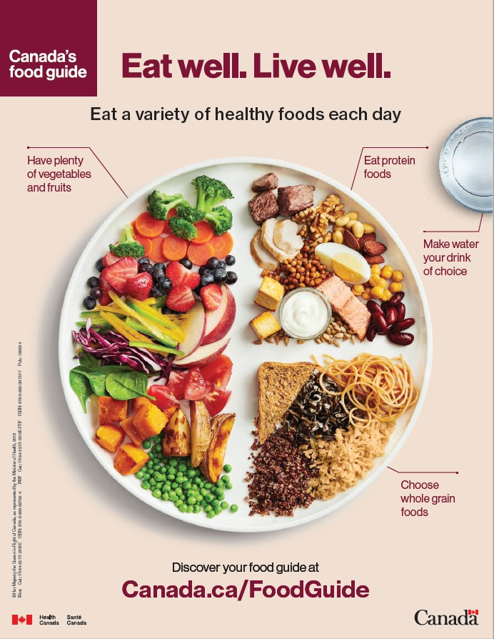 "Champion the Food Guide ""Eat Well Plate"""