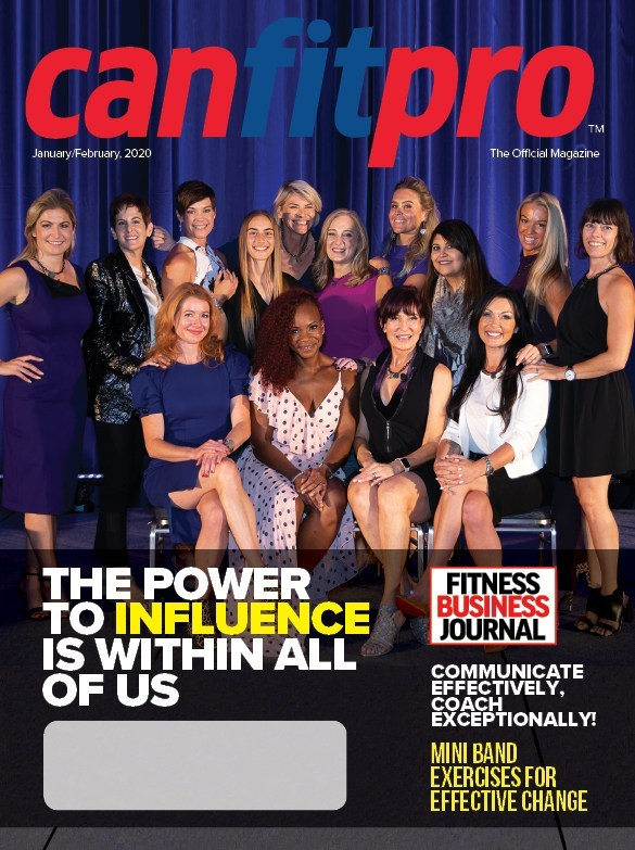 canfitpro Magazine | Jan/Feb 2020 cover