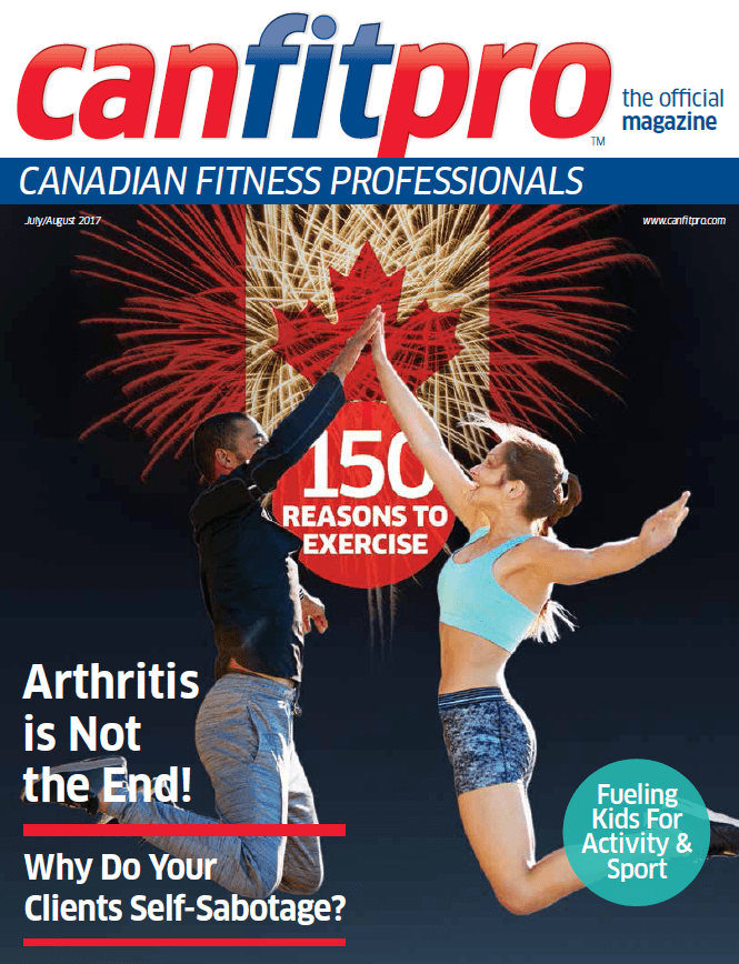 canfitpro Magazine | Jul/Aug 2017 cover