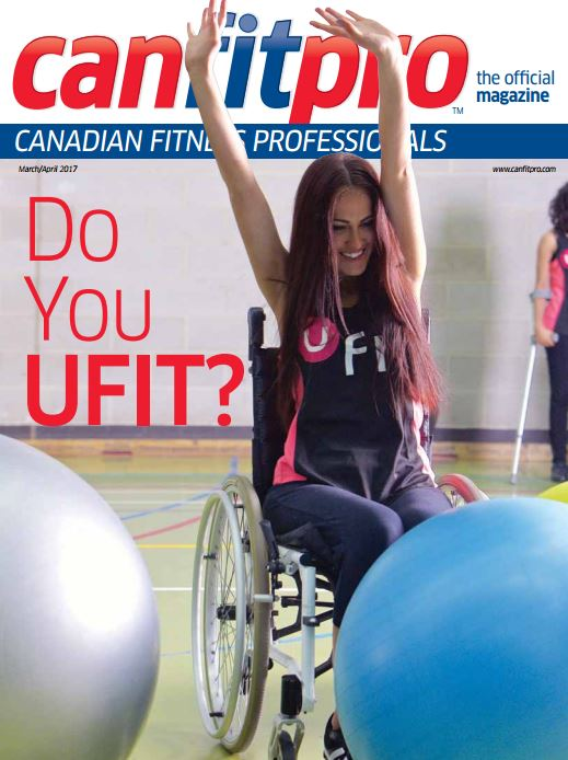 canfitpro Magazine | Mar/Apr 2017 cover
