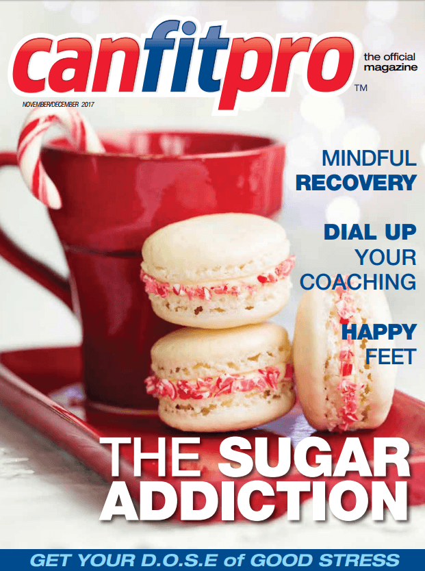 canfitpro Magazine | Nov/Dec 2017 cover