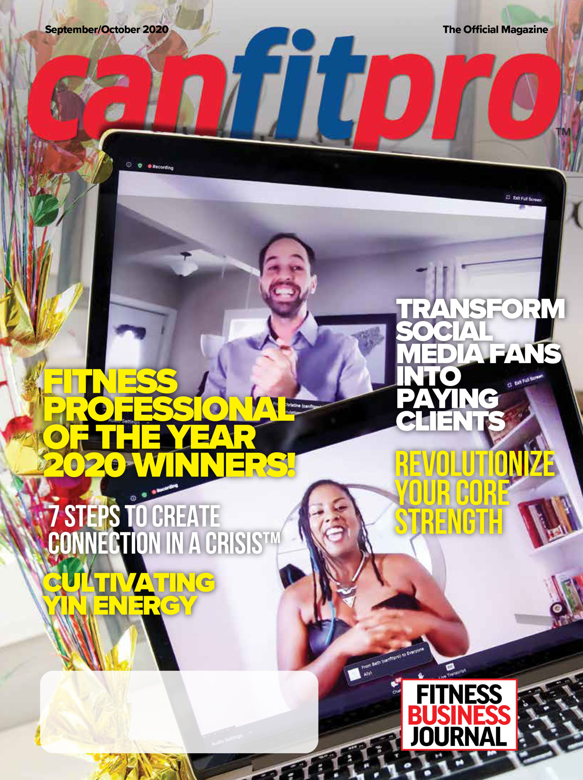 canfitpro Magazine | Sep/Oct 2020 cover