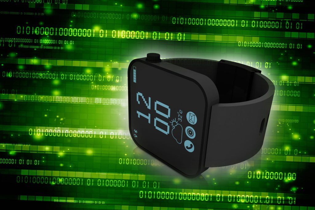 3d rendering fitness bracelet smart watch