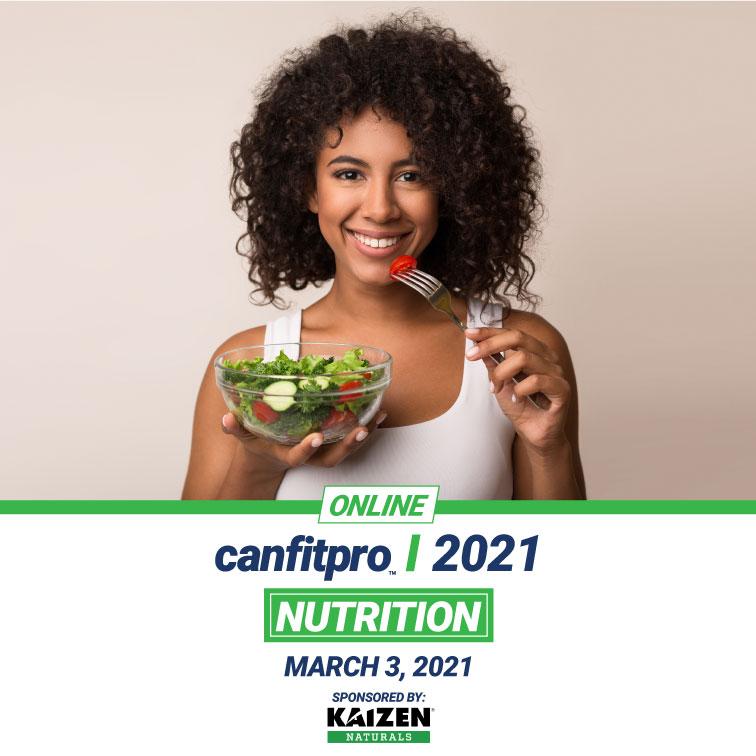 canfitpro events 2021 | Nutrition