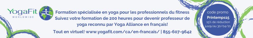 Yogafit - French ad