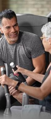 Matrix Fitness workout