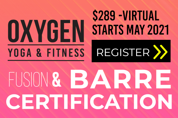 Oxygen - barre certification promo