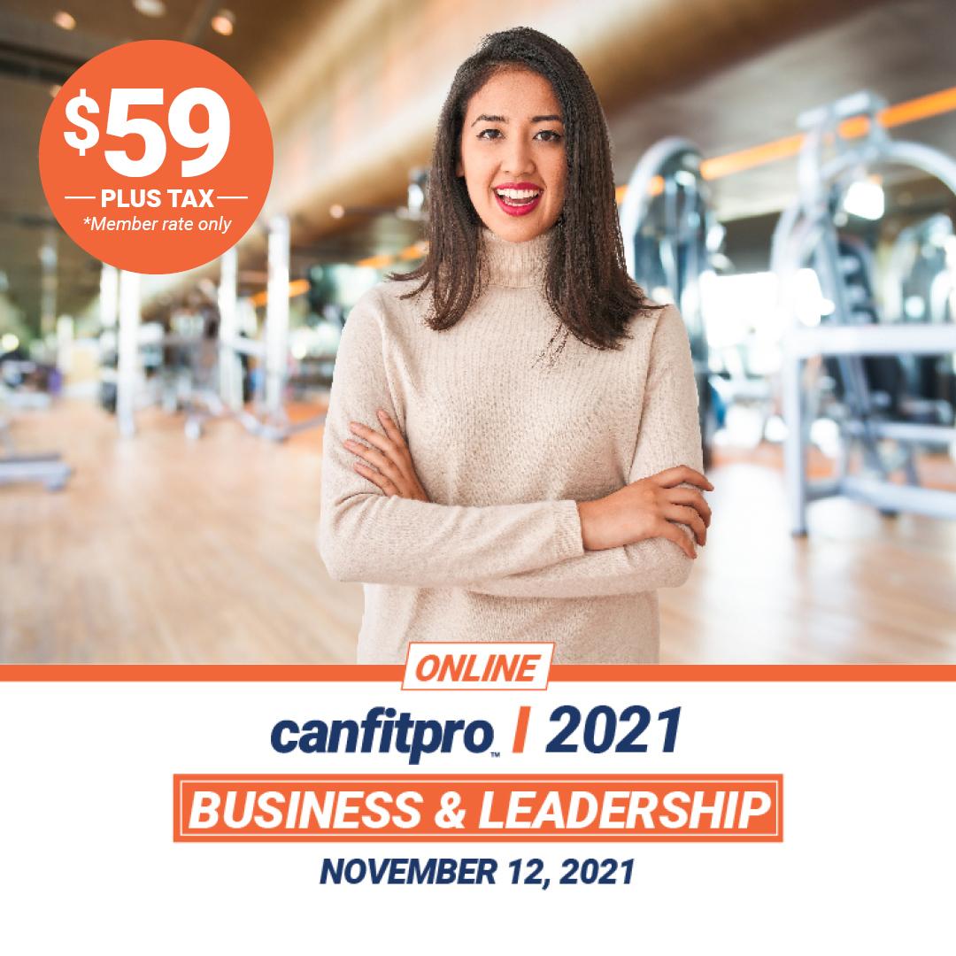 canfitpro Online 2021: Business